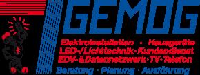 Logo von GEMOG Elektroanlagen GmbH